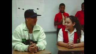 DaddyYankee en la escuela de su hija cuando estaba en 6to de primaria