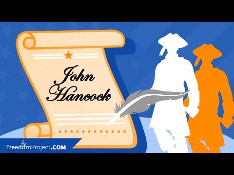 John Hancock | Declaration of Independence