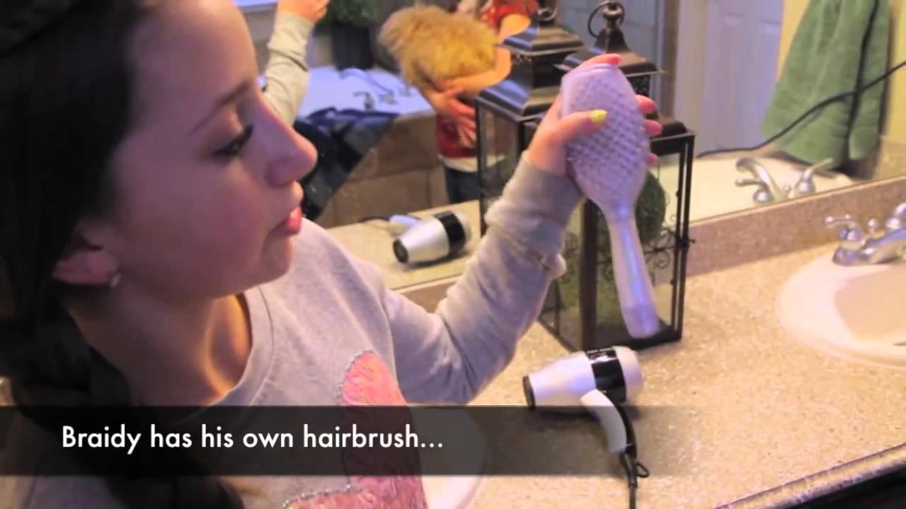 braidy bath night puppy hygiene cute girls hairstyles - youtube