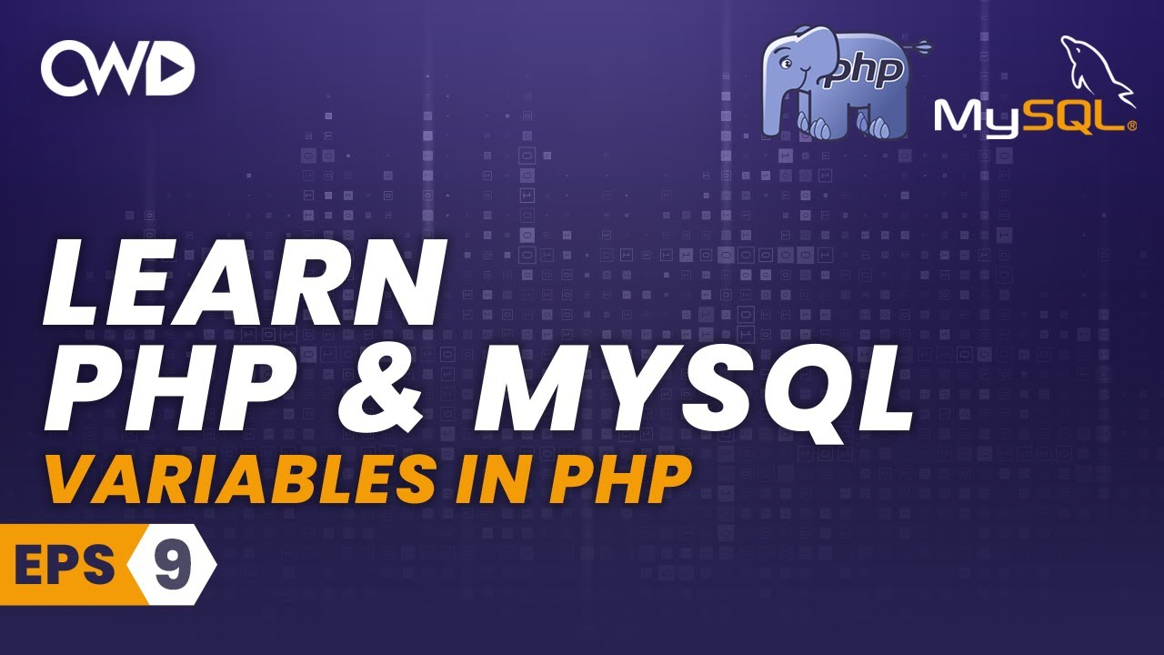 Variables in PHP - PHP for Beginners - PHP Programming