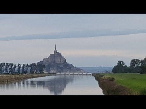 Mont Saint Michel_ travelling from Pontorson