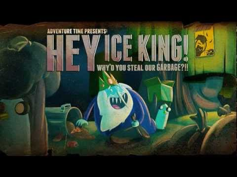 Party In the Clouds Adventure Time - Hey Ice King! Why'd You Steal Our Garbage!! OST