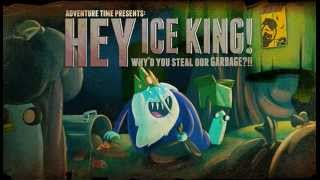 Party In the Clouds Adventure Time - Hey Ice King! Why