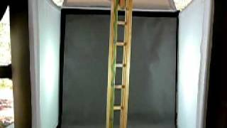 Handmade Wooden Ladder & Peg  Toy From The Fairy Ring