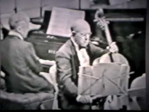 Pablo Casals and Artur Rubenstein