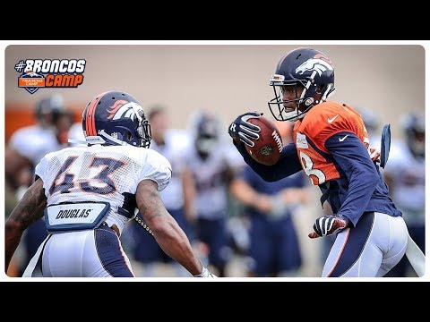 Highlights: Day Three of Broncos Camp