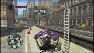 LEGO Marvel Superheroes - Ultimate Spiderman And Venom REAL Mods!