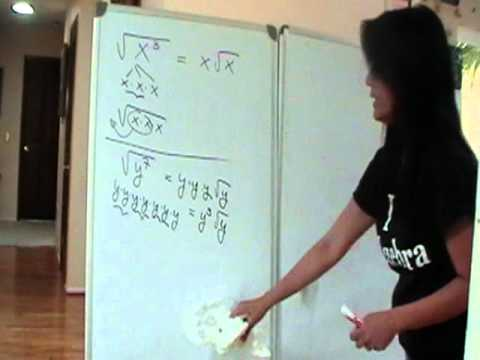 Simplifying Radicals of Index 2: Radicand Contains Variables
