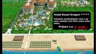 Hotel Royal Dragon - 5 sterren inclusieve Hotel Turkije Side