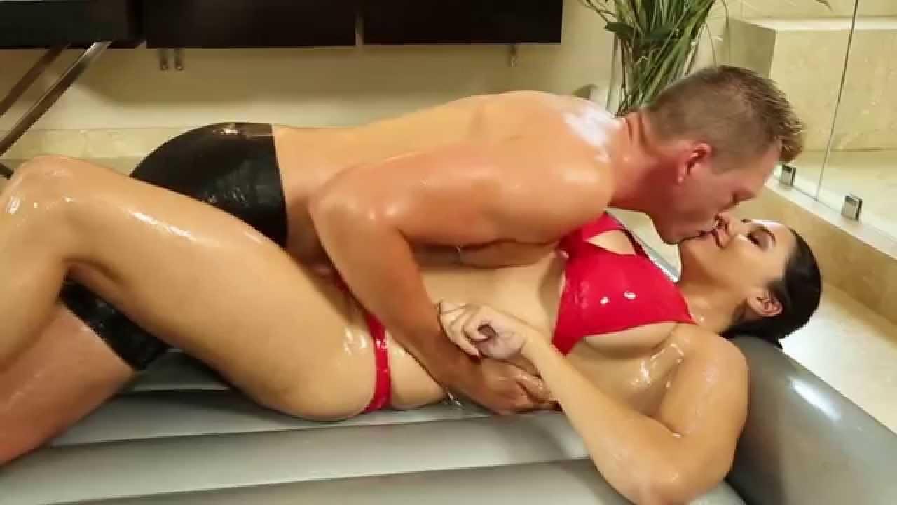 Pareja masaje nuru orgasmo