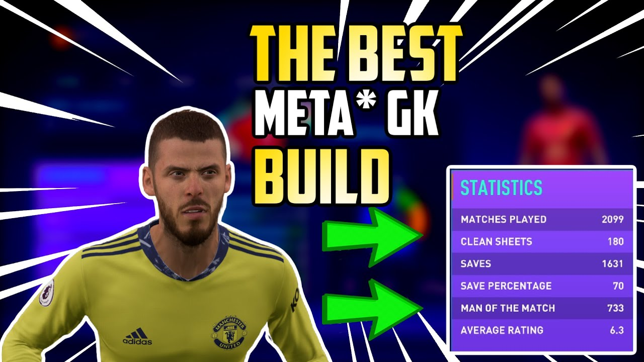 FIFA 21 - THE BEST META* GK BUILD IN PRO CLUBS