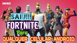 """CAME OUT NEW FORTNITE APK MODIFIED for """"ANY"""" ANDROID PHONE (DOWNLOAD APK MOD)"""