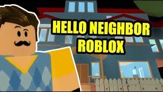 UPDATES!🗝 Hello Neighbor | Hello Neighbor Roblox Map