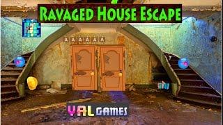 Yal Ravaged House Escape walkthrough FULL..