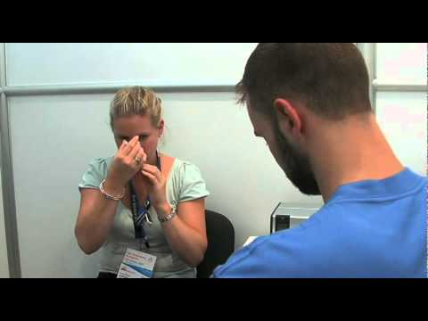Conducting a Lung Function Test
