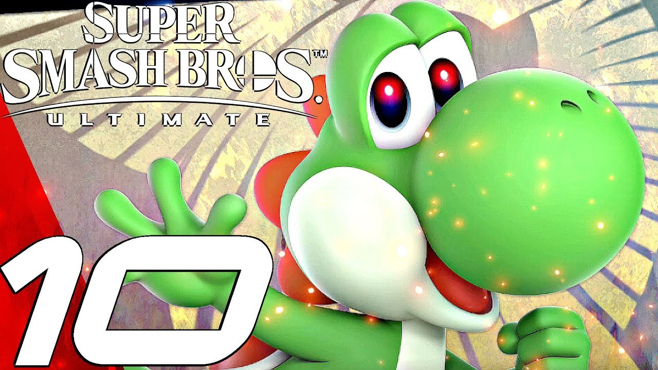 Super Smash Bros Ultimate Gameplay Walkthrough Part 10 Yoshi