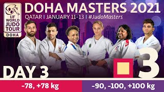 Day 3 - Tatami 3: Doha World Judo Masters 2021