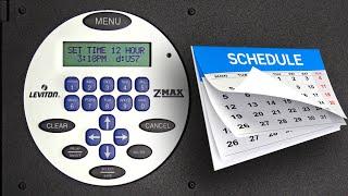 EZ-MAX Plus: How to Set a Schedule