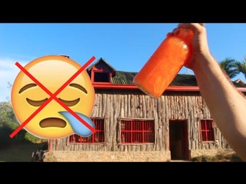 como se prepara suero oral casero de zanahoria