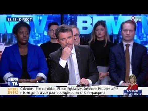 """Mort d'Arnaud Beltrame: Manuel Valls souligne un """"acte héroïque"""""""
