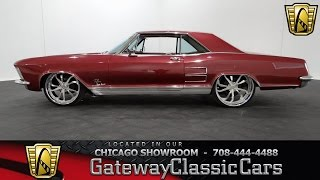 1963 Buick Riviera GS Gateway Classic Cars Chicago #888