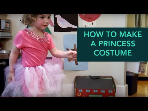 How To Make A Princess Costume - Easy DIY Halloween | Care.com