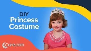 How to Make a Princess Costume - Easy DIY Halloween   Care.com