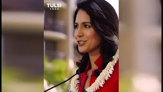 This is how Tulsi Gabbard is campaigning for herself