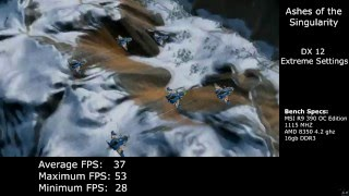 Ashes of the Singularity: R9 390 DX12 Benchmark