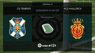CD Tenerife - RCD Mallorca MD27 V2100