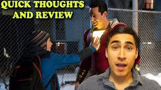 Shazam Teaser Trailer 2018 Quick Thoughts and Review Comic Con