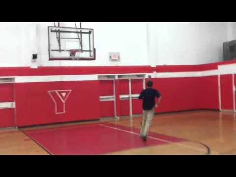 Basketball shot from opposite 3 point line!