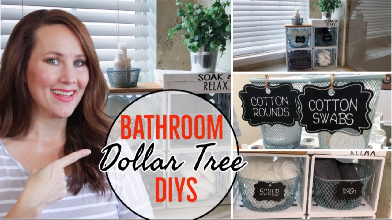 Farmhouse Bathroom Decor Dollar Tree Diy Ideas 2020 Youtube