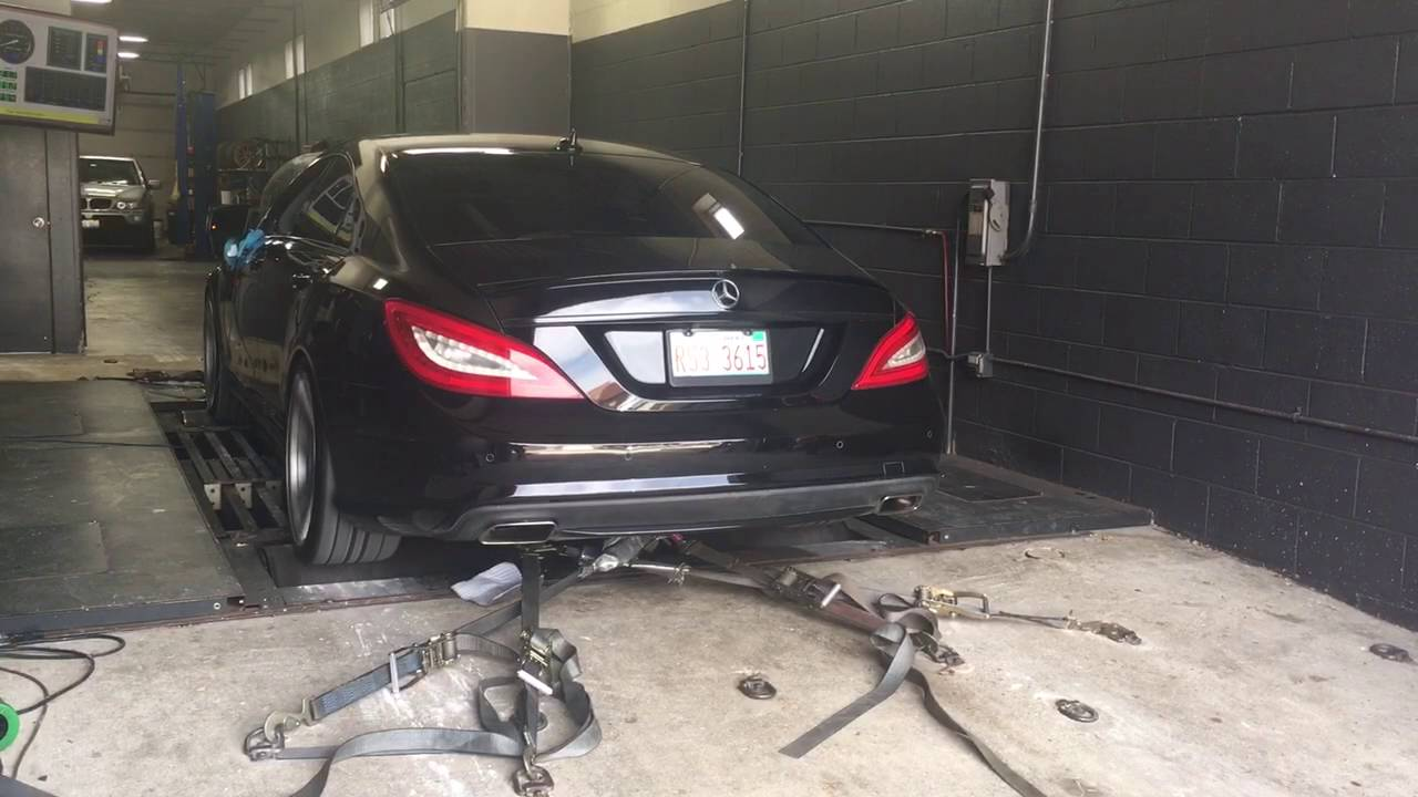 CLS550 4matic dyno - MBWorld org Forums