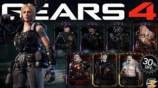 Gears of War 4 - Black Steel Black Friday Sales Esports Characters Day 2! (Esports DLC)