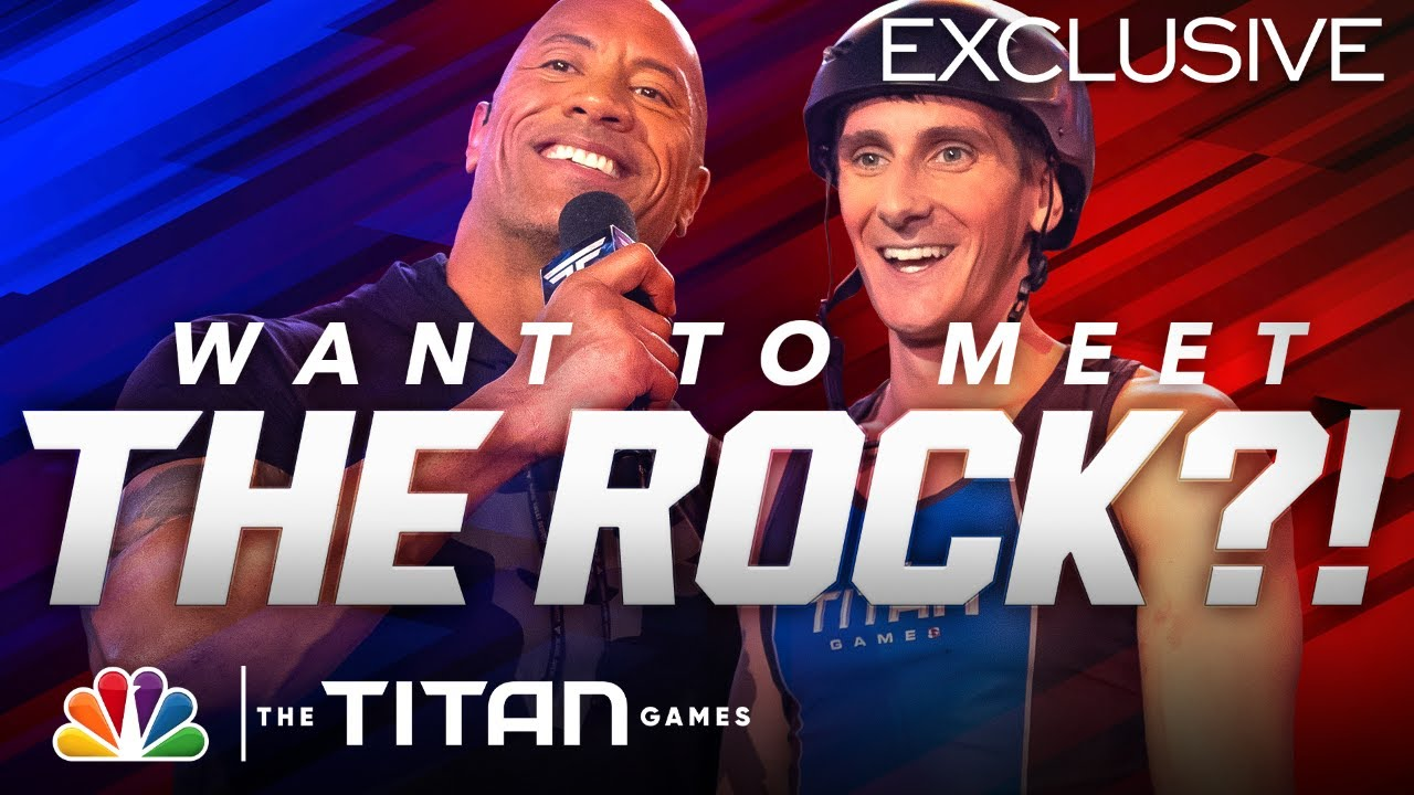 What Is It Like to Meet The Rock? - The Titan Games