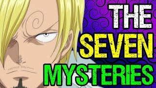 ❓ The 7 Mysteries of One Piece ❓ (Not a Serious Video)