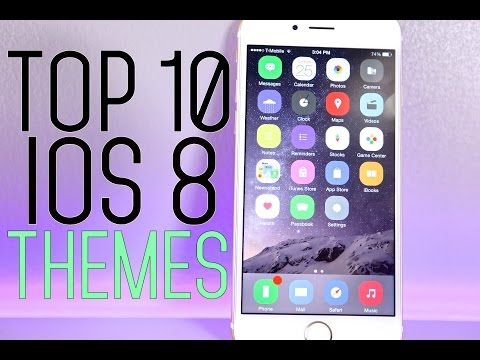 Top 10 Themes For iOS 8 - BEST Cydia Winterboard Themes 8.1
