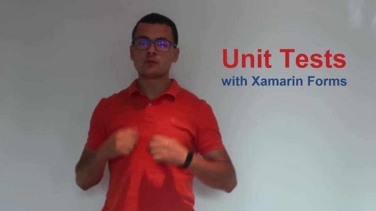 Unit Tests with Xamarin Forms