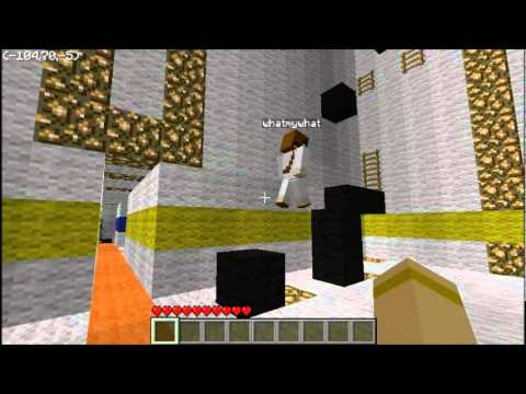 Minecraft Adventure map freerunners