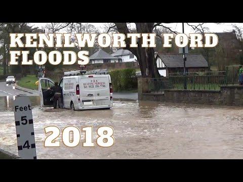 Kenilworth Ford Floods 2018