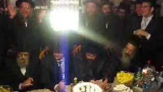 Bobov rebbe at Tenoim of Chaim Dunner son of R