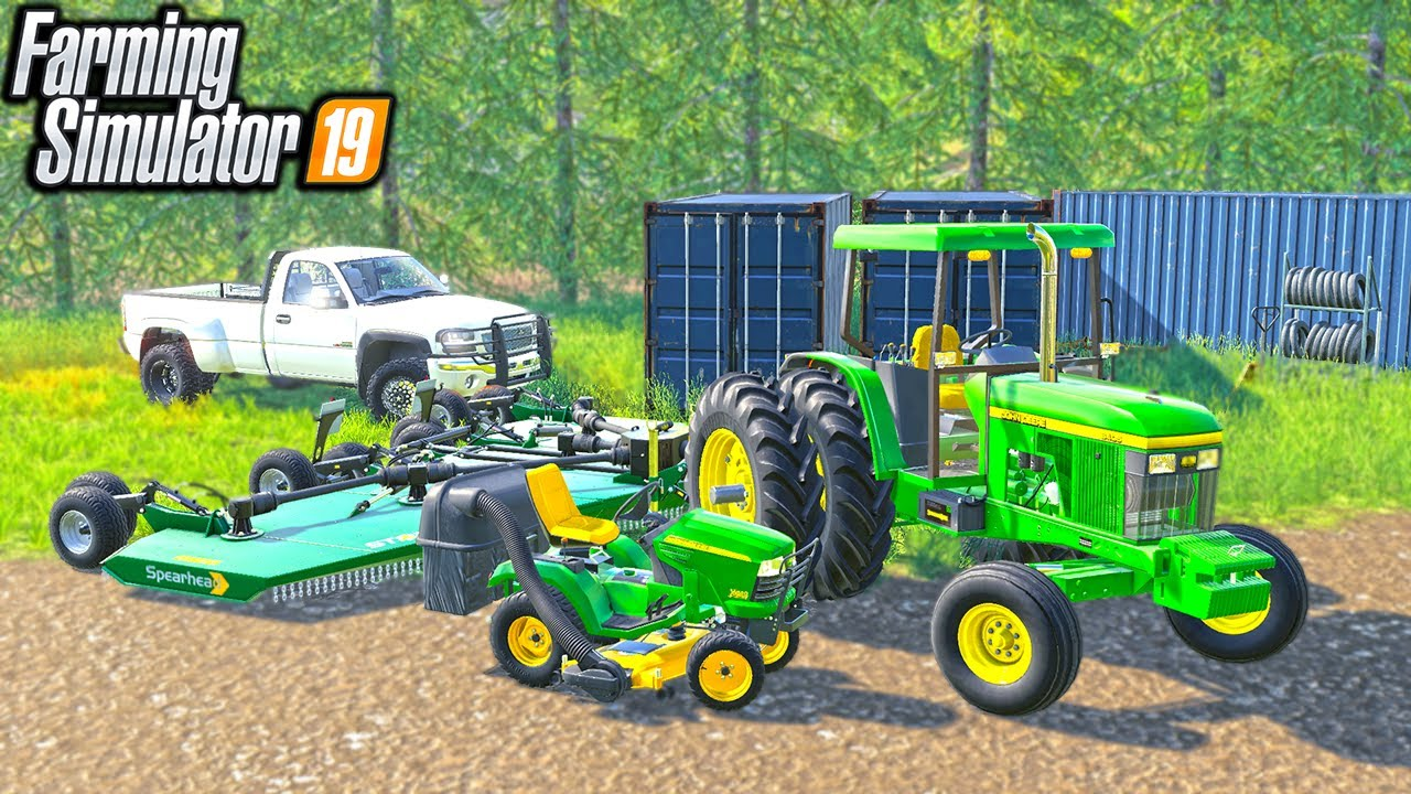 CLEANING UP AN OLD PROPERTY   (ROLEPLAY) FARMING SIMULATOR 2019