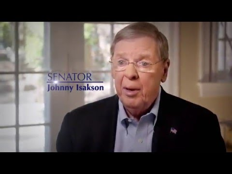 Johnny Isakson for Senate: Never