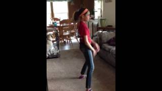 10 year old dancing to ride
