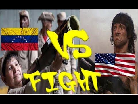 Entrenamiento Militar Venezuela vs Estados Unidos