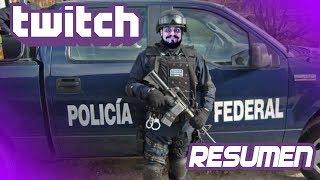 Lo mejor de Twitch en VIVO: ¡Manejando una patrulla de la Policía Federal!