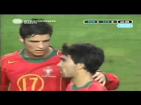 Cristiano Ronaldo Vs Slovakia Home 05-06