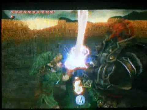 The Legend Of Zelda Twilight Princess Final Boss Link Vs