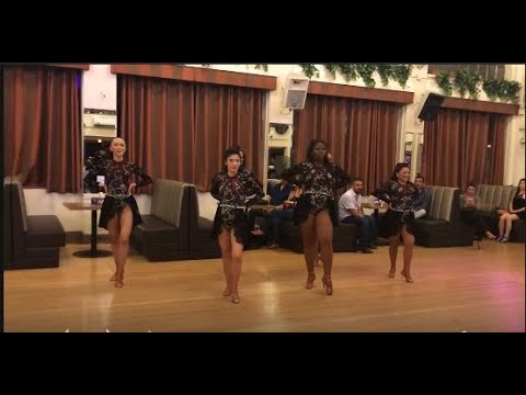Erica Reyna Ladies Training Team Salsa - Granada Bachata Thursdays - 9/27/2018